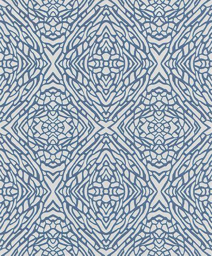 Vliestapete Grafisch weiß blau Glitzer Erismann 5960-08 online kaufen