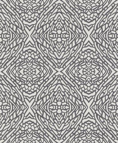 Wallpaper graphics Erismann white black glitter 5960-15 online kaufen