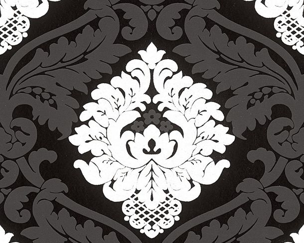 Wallpaper Bling Bling baroque glitter black 3139-59 online kaufen