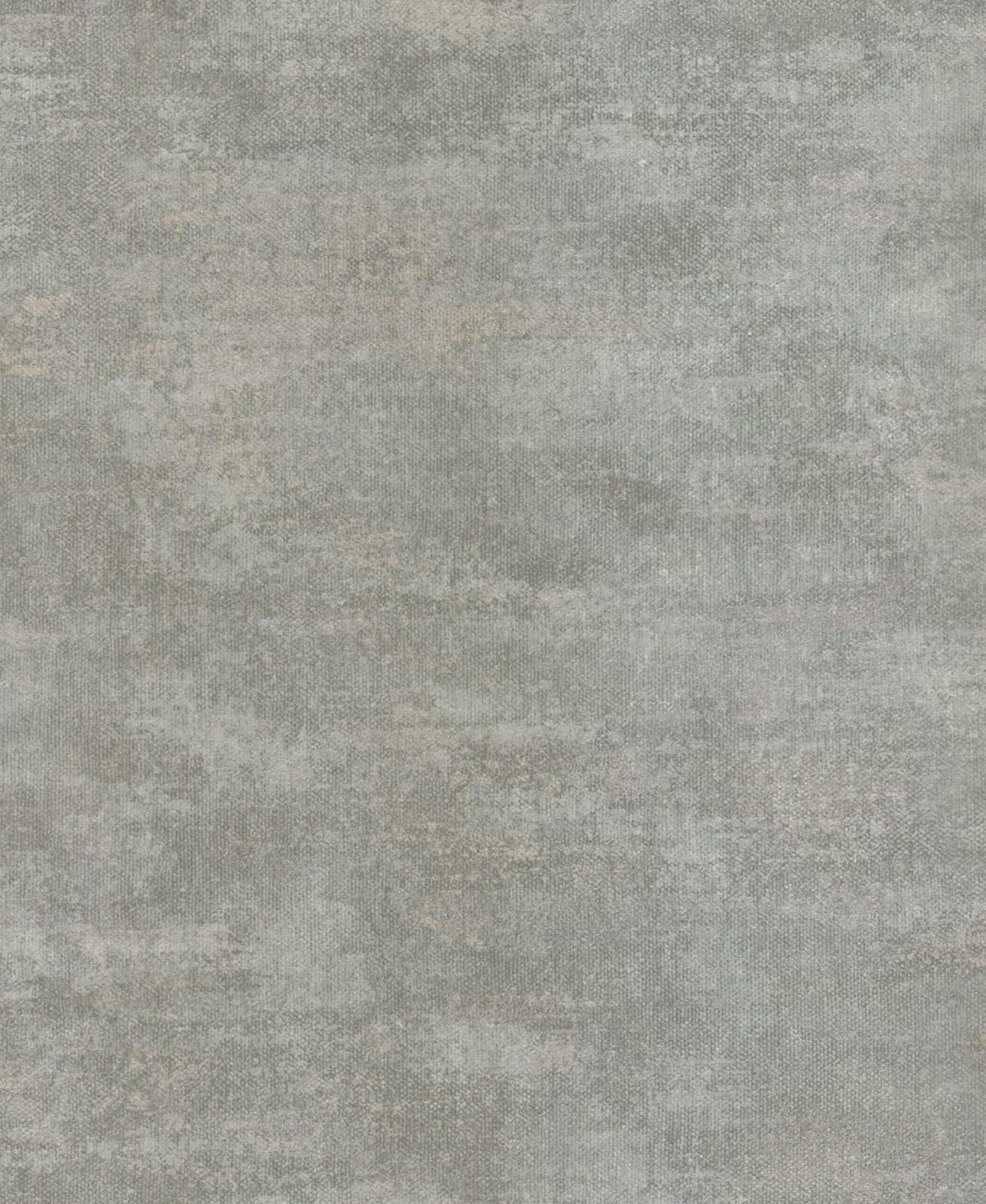 Tapete rasch textil tintura uni grau türkis 227191
