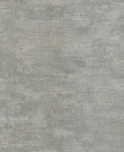 Wallpaper Rasch Textil plain grey turquoise 227191