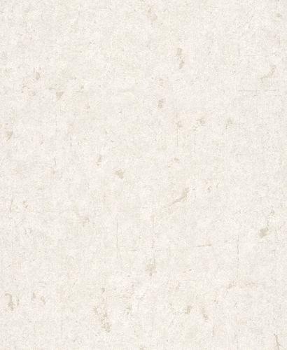 Non-woven Wallpaper Plain Vintage cream Glossy 227320 online kaufen