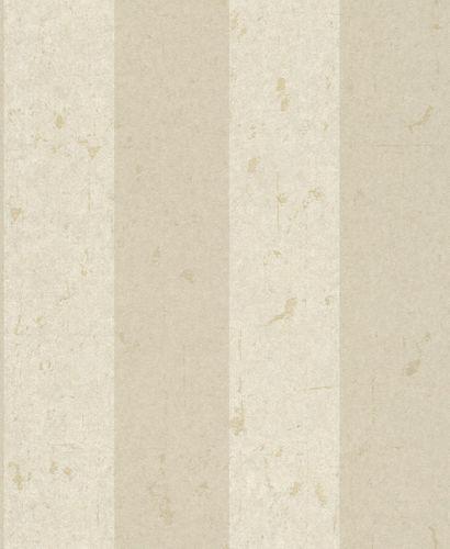 Vliestapete Blockstreifen Vintage beige weiß Glanz 227351 online kaufen