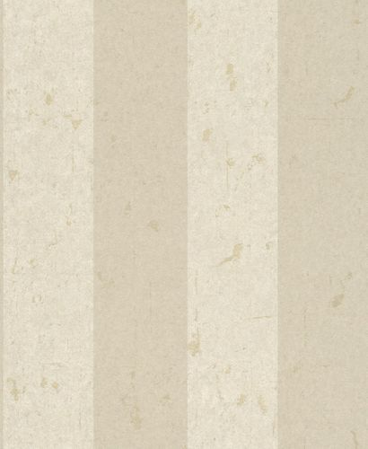 Non-woven Wallpaper Block Stripes Classic beige 227351 online kaufen
