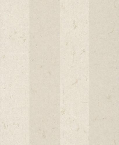 Vliestapete Blockstreifen Vintage creme weiß Glanz 227375 online kaufen