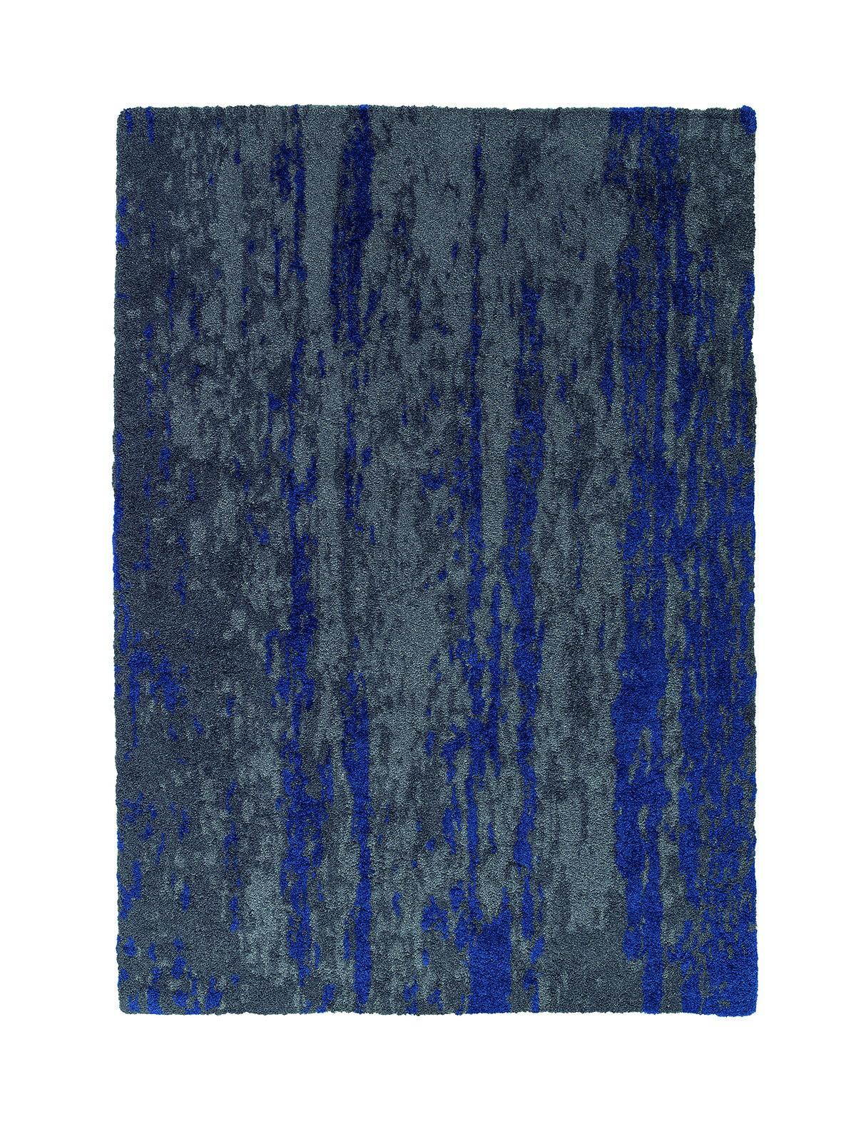 sch ner wohnen teppich kurzflor impression blau 161042. Black Bedroom Furniture Sets. Home Design Ideas