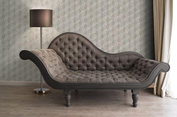 Wallpaper grey graphics Titanium livingwalls 30654-2 online kaufen