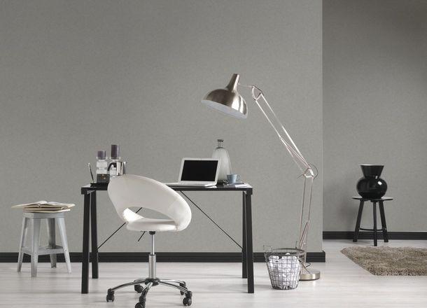 Wallpaper taupe plain Titanium livingwalls 3153-59 online kaufen