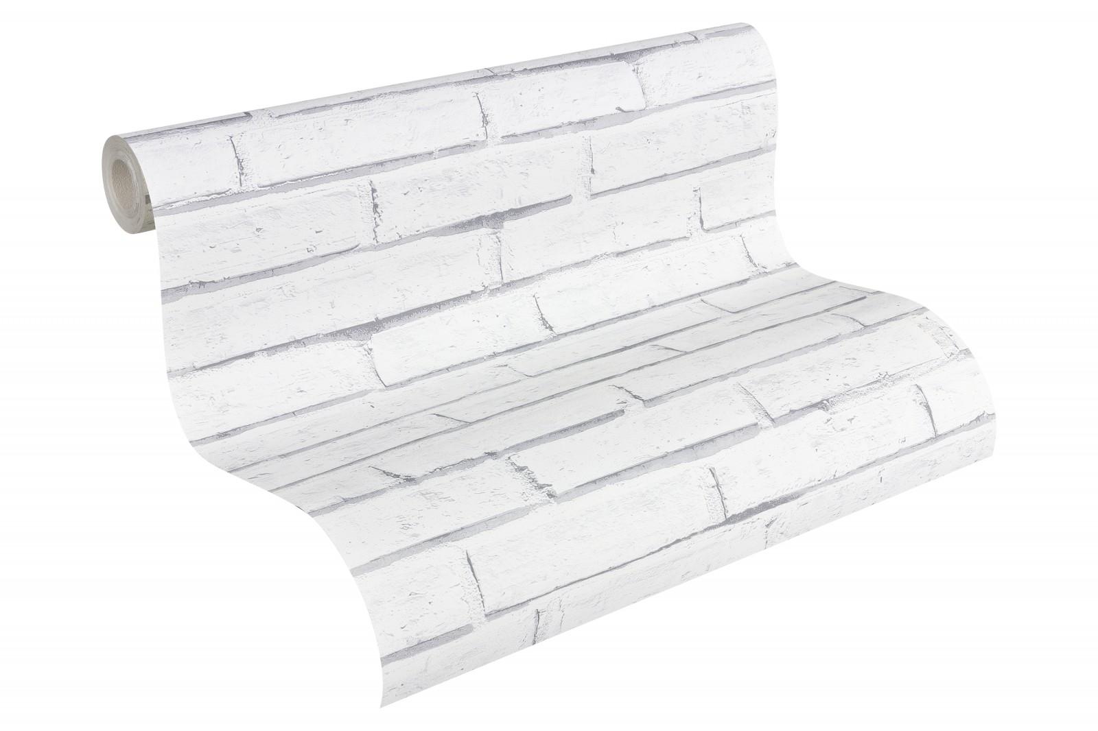 tapete steine steinwand wei as creation 30169 2. Black Bedroom Furniture Sets. Home Design Ideas