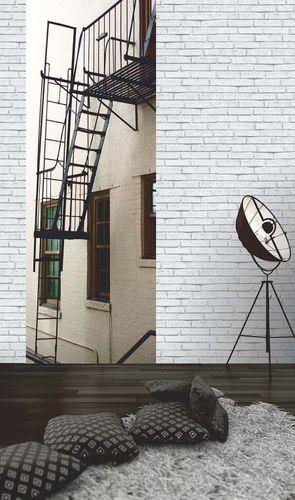 Wallpaper AS Creation stone wall white 30169-2 online kaufen
