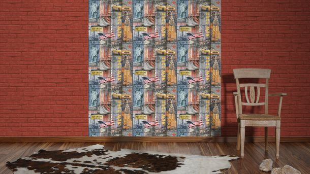 Wallpaper Lutèce USA New York colourful 30170-1 online kaufen