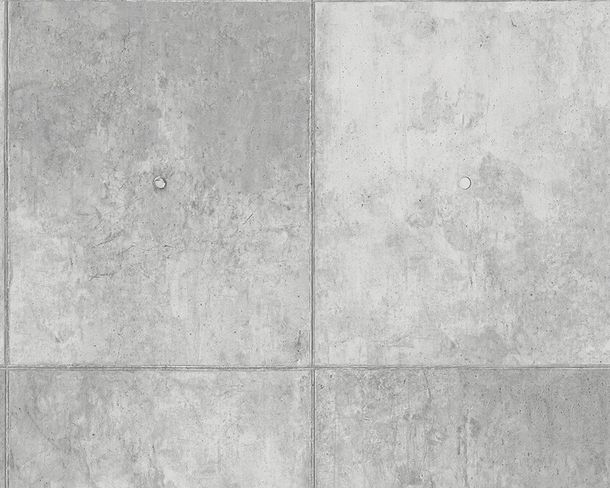 Non-Woven Wallpaper stone concrete slab grey 30179-1