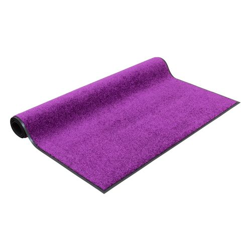 Dirt Barrier Mat Door Mat plain purple X-Tra Clean online kaufen