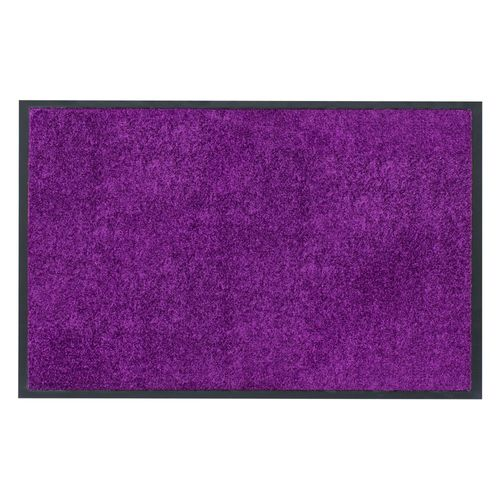 Dirt Barrier Mat Door Mat plain purple X-Tra Clean