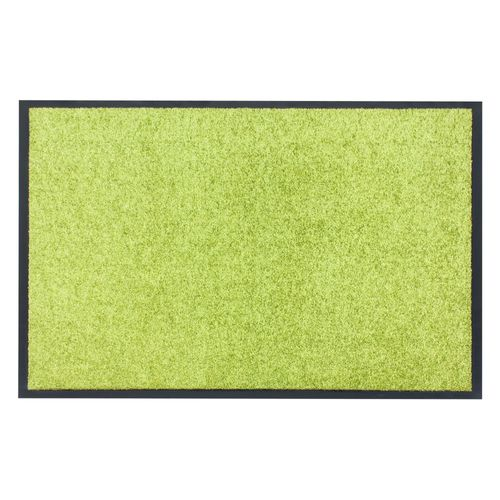 Dirt Barrier Mat Door Mat plain green X-Tra Clean online kaufen