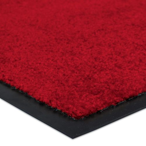 Dirt Barrier Mat Door Mat plain red X-Tra Clean online kaufen