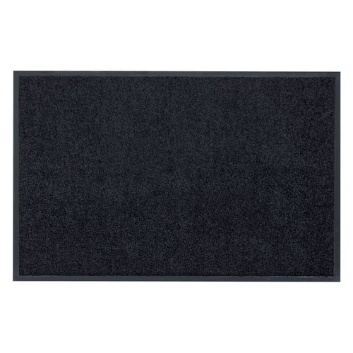 Dirt Barrier Mat Door Mat plain black X-Tra Clean