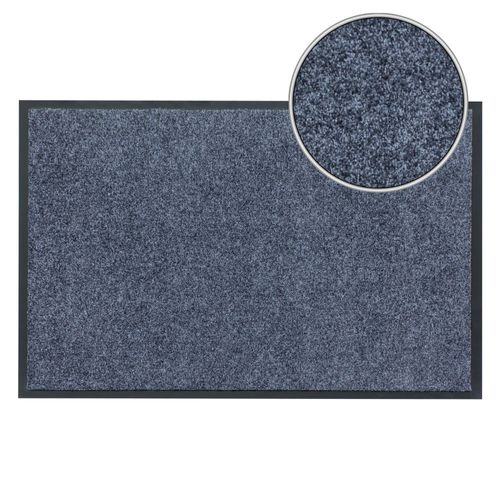 Dirt Barrier Mat Door Mat plain grey X-Tra Clean online kaufen