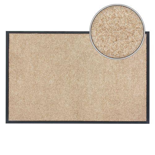 Dirt Barrier Mat Door Mat plain beige X-Tra Clean online kaufen