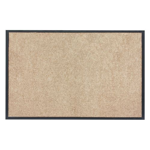 Dirt Barrier Mat Door Mat plain beige X-Tra Clean online kaufen