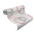 Rollenbild Wallpaper Lutece Soraya graphic ellipse circles gloss cream white 305845 2