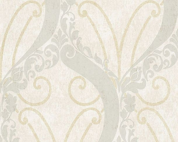 Wallpaper Lutece ornaments gloss glitter cream 305862 online kaufen
