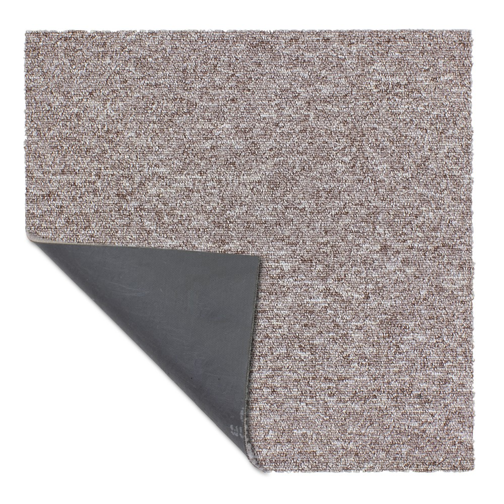 Carpet Tile Hard Wearing Rug Diva Beige 50x50 Cm