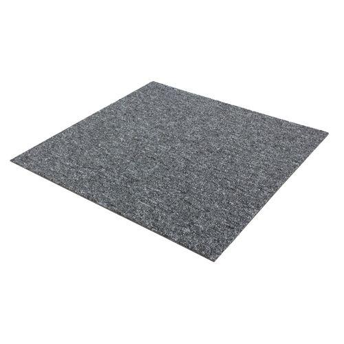Carpet Tile Hard-Wearing Rug Diva grey 50x50 cm online kaufen