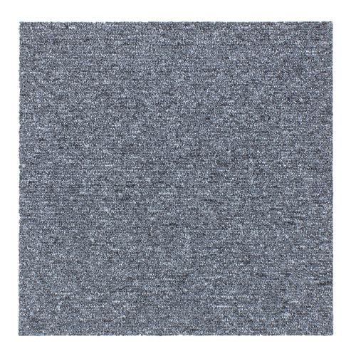 Carpet Tile Hard-Wearing Rug Diva grey 50x50 cm online kaufen