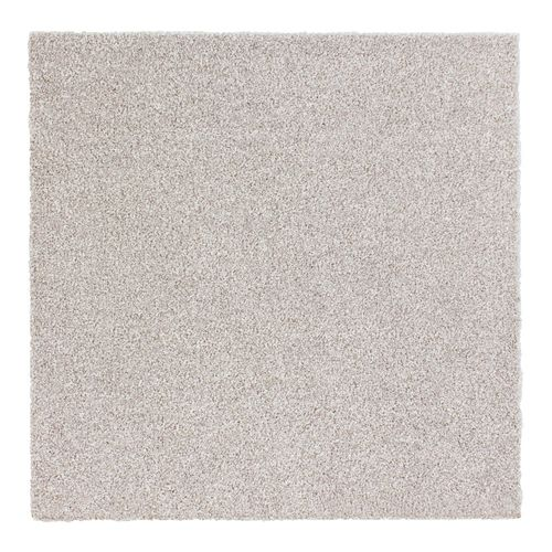 Carpet Tile Velour Hard-Wearing Rug cream 50x50 cm online kaufen