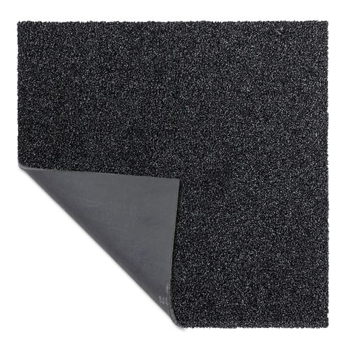 Carpet Tile Velour Hard-Wearing Rug black 50x50 cm online kaufen