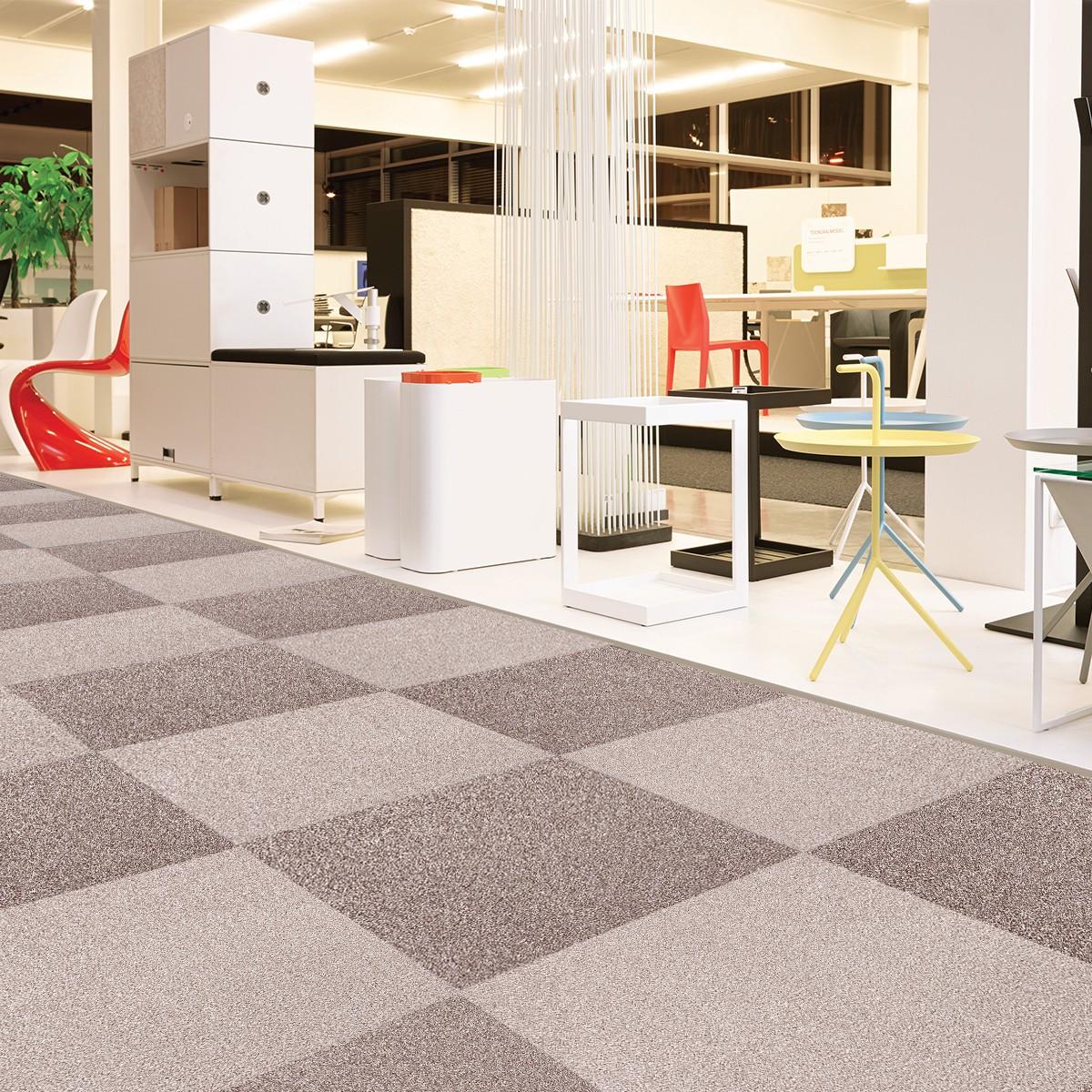 Modular floor tile