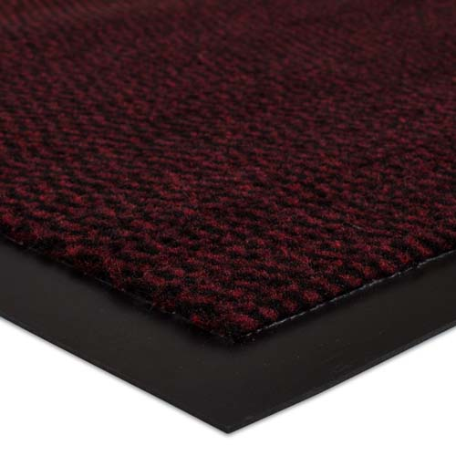 Dirt Barrier Runner Rug Mat red Basic Clean 90cm