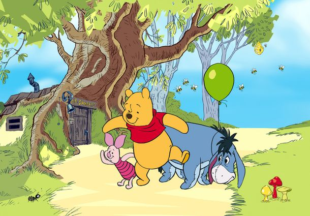 Photo Wallpaper Mural Disney Winnie the Pooh 360x254cm online kaufen
