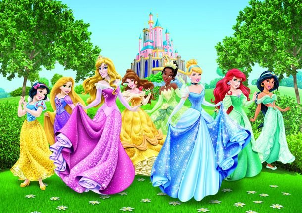 Photo Wallpaper Mural Disney Princess Cindarella 360x254cm Canvas online kaufen