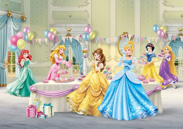 Photo Wallpaper Mural Disney Princess Cindarella 360x254cm online kaufen