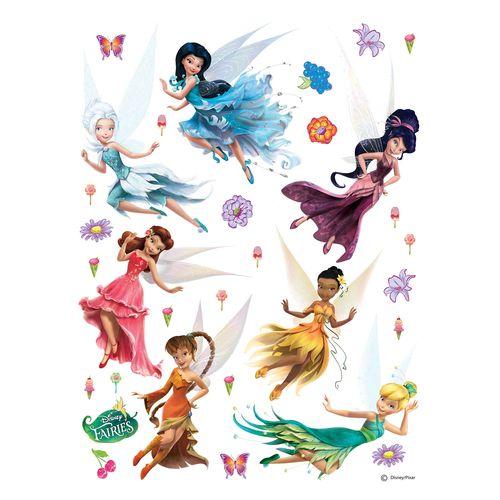Wandsticker Sticker Disney Feen Tinkerbell 65x85cm