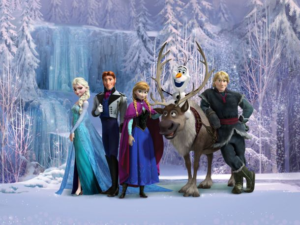 XXL Photo Wallpaper Mural Disney Frozen Elsa online kaufen
