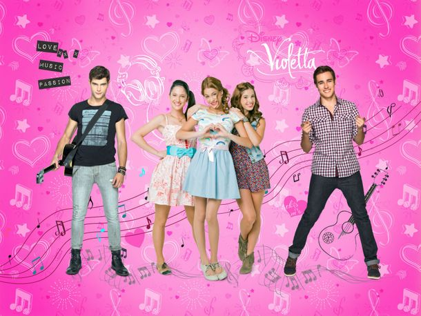 XXL Photo Wallpaper Mural Disney Violetta Girls Kids