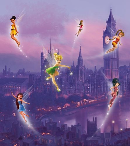 XXL Photo Wallpaper Mural Disney Fairy Tinkerbell Girls online kaufen