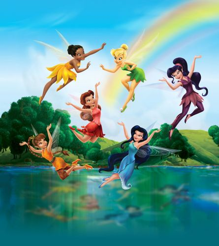 XXL Photo Wallpaper Mural Disney Tinkerbell 180x202 cm online kaufen