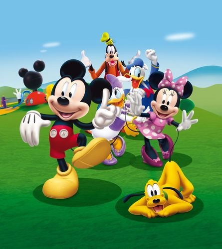 XXL Photo Wallpaper Mural Disney Mickey Mouse 180x202cm online kaufen