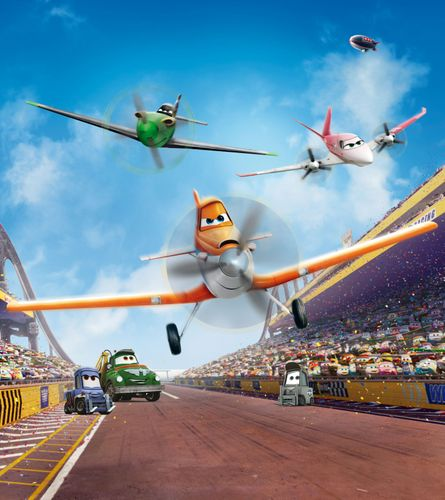 XXL Photo Wallpaper Mural Disney Planes Boys Girls