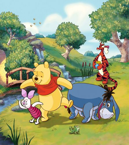 XXL Photo Wallpaper Mural Disney Winnie the Pooh 180x202 cm online kaufen