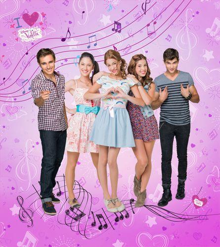 XXL Fototapeten Tapete Disney Violetta Kinder 180x202 cm online kaufen
