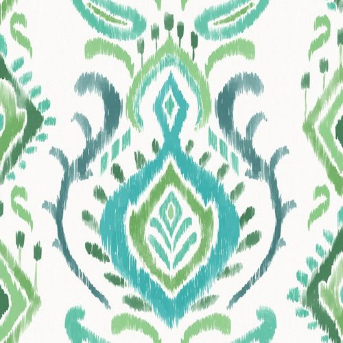 Wallpaper ethno ornaments Rasch Textil green 148647 online kaufen