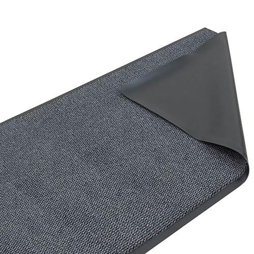 Schmutzfangläufer Sauberläufer Basic Clean grau 120cm online kaufen