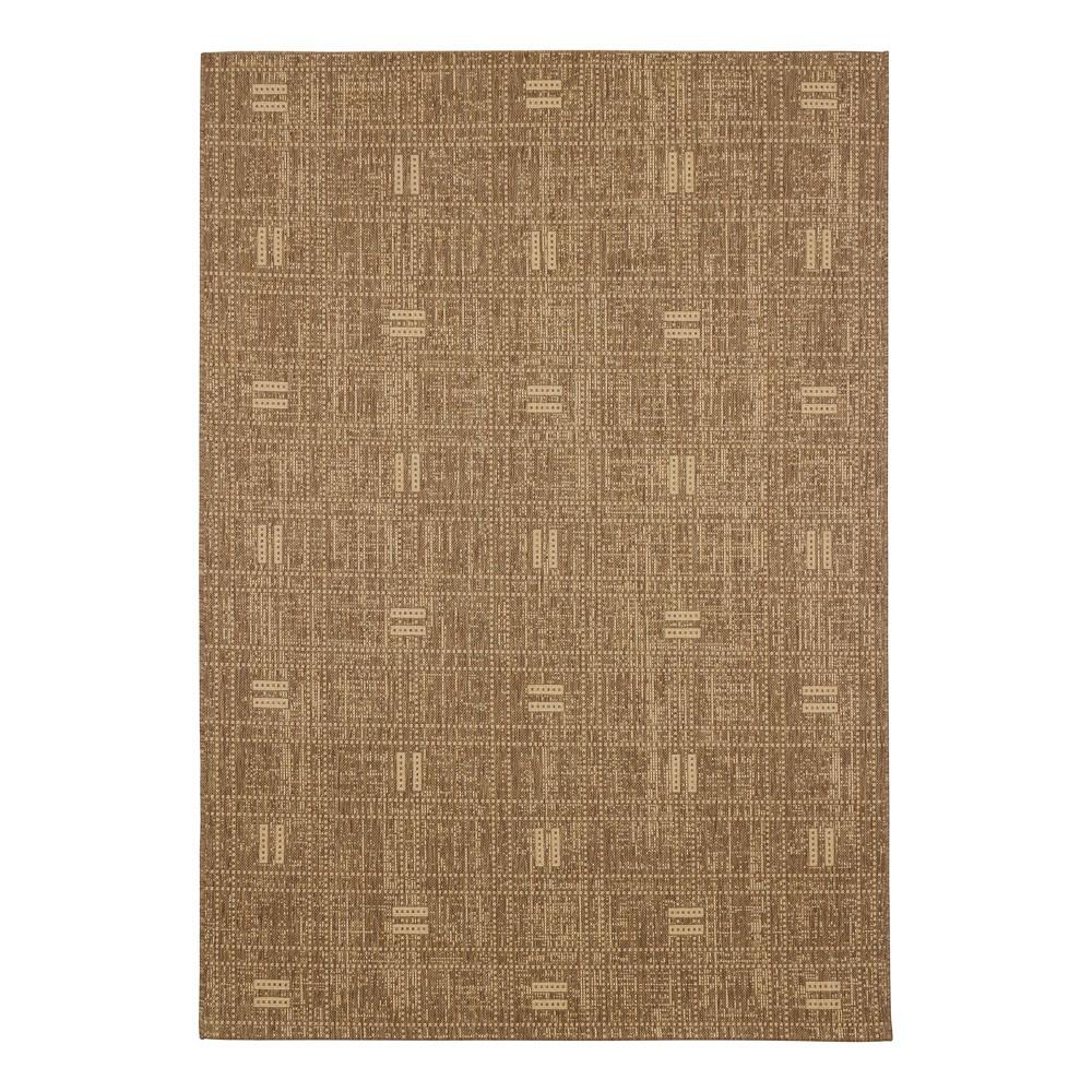 carpet rug flatwoven astra striped brown beige. Black Bedroom Furniture Sets. Home Design Ideas