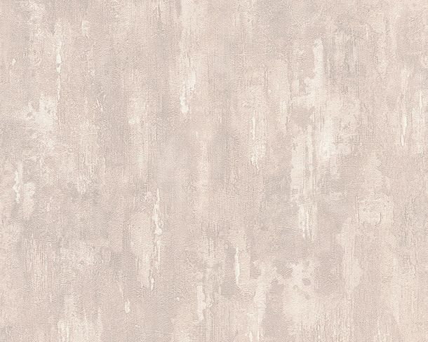 Wallpaper cement plaster AS Creation beige grey 30694-2