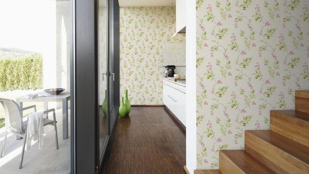 Wallpaper floral flowers AS Creation beige 30416-2 online kaufen